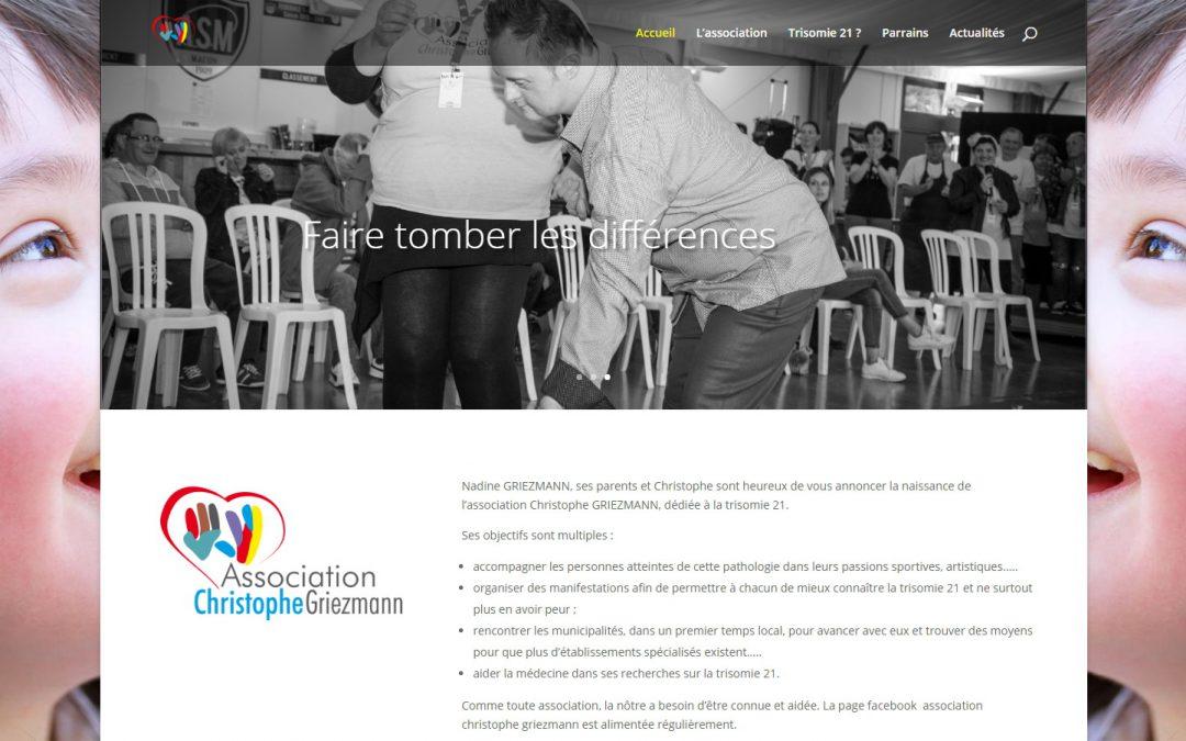 Refonte du site Internet de l'Association Christophe Griezmann
