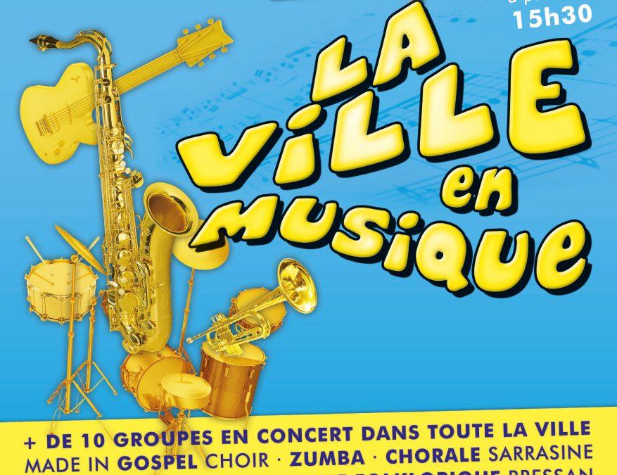 Programme de la Ville en Musique à Pont de Vaux