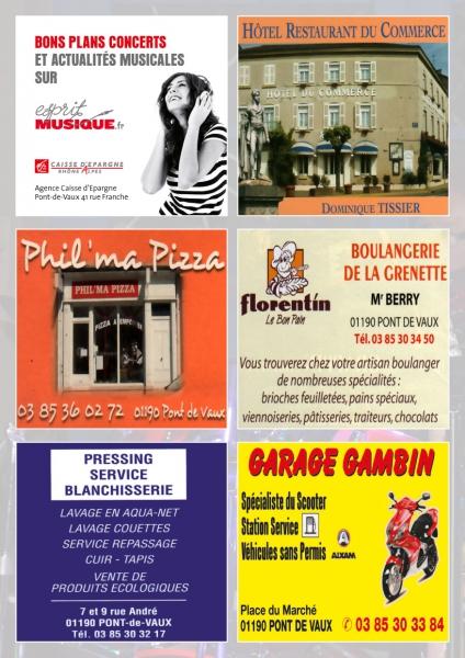 Programme De La Ville En Musique A Pont De Vaux Actualites